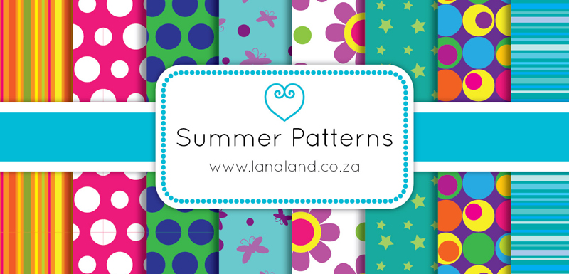free summer vector patterns