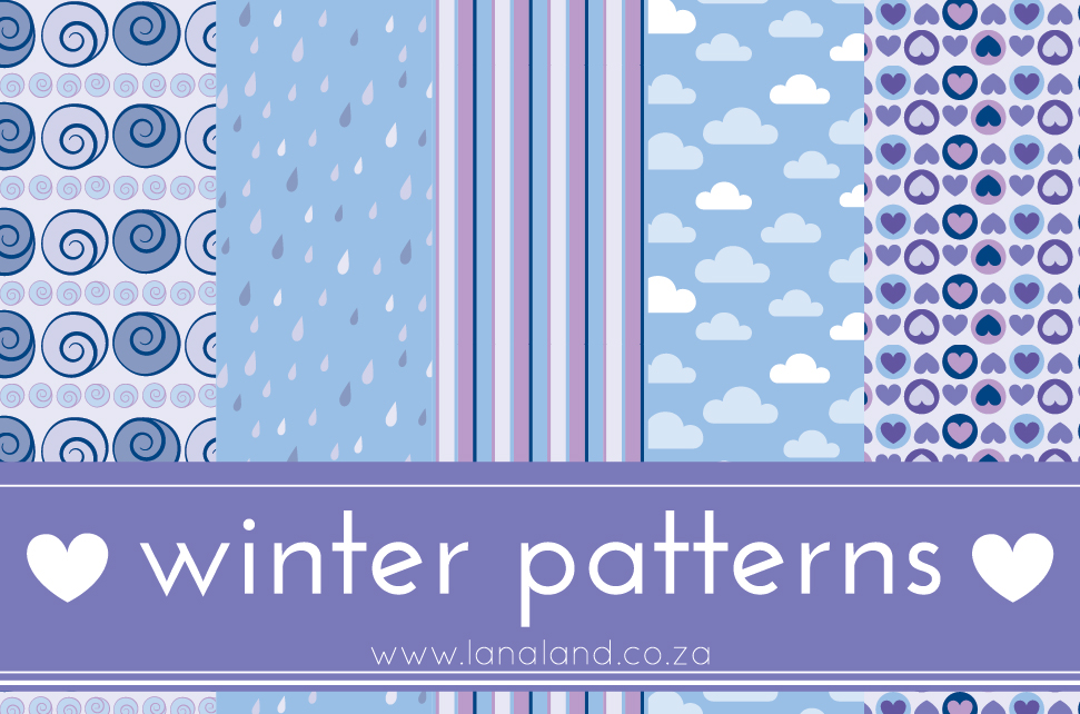 Winter Patterns ♥