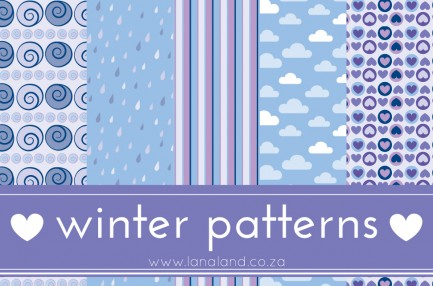 winter patterns preview